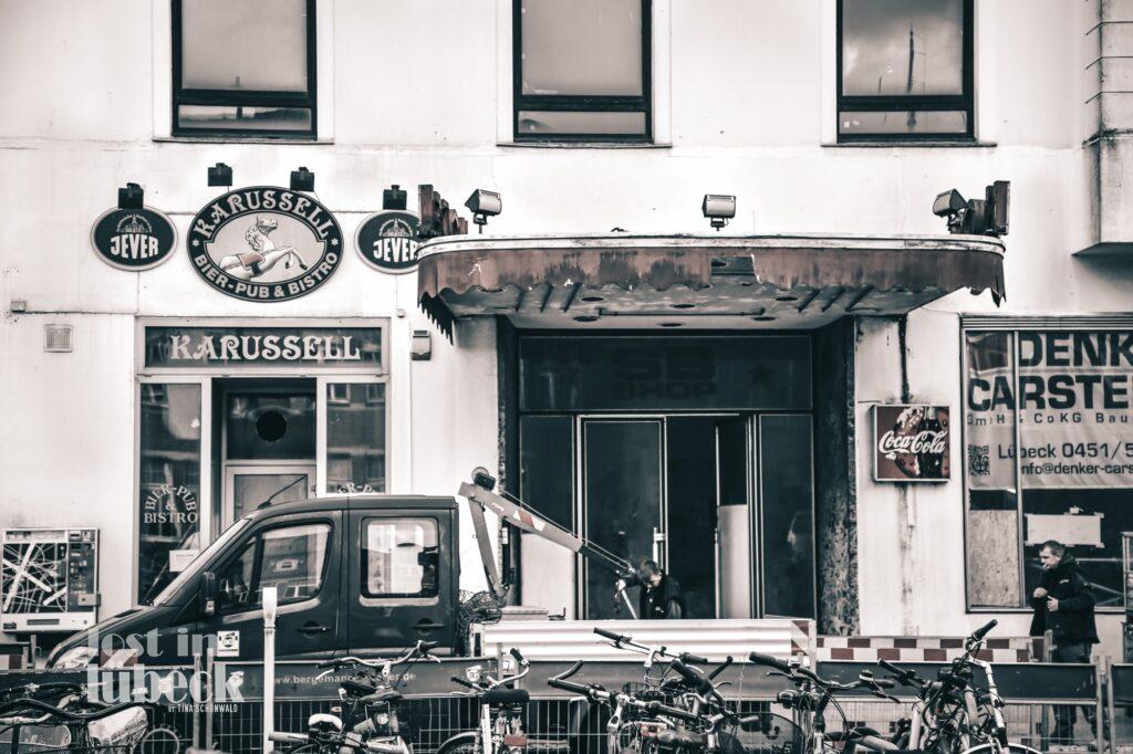 Am Bahnhof Lübeck Gaststätte Karussell