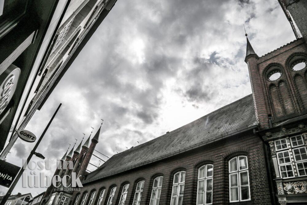 Breite Strasse Lübeck Fußgängerzone Rathaus