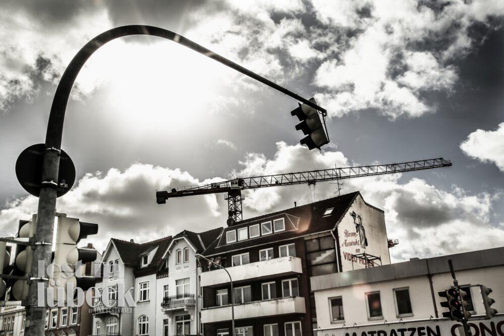 Fackenburger Allee Lübeck Strassenkreuzung