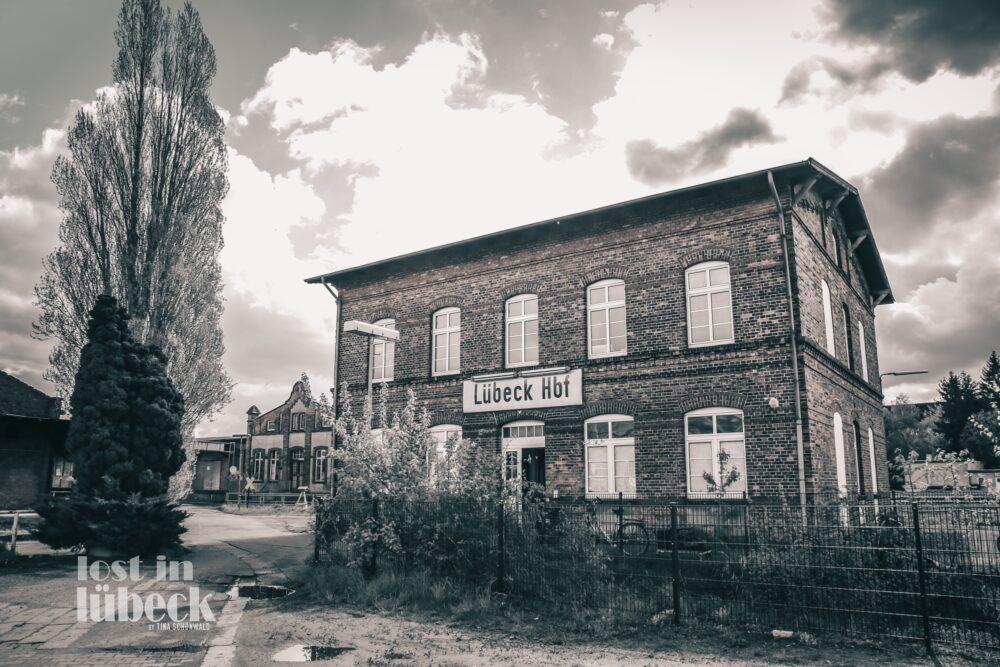 güterbahnhof Lübeck altes Bahnhofsgebäude
